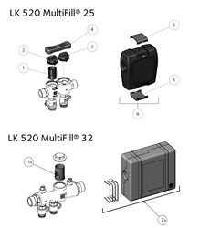 MultiFill® - Spare parts Product image (LKA)